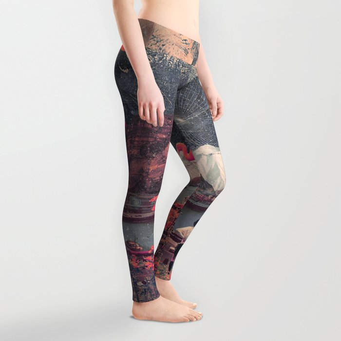 My Choices left me Alone Leggings