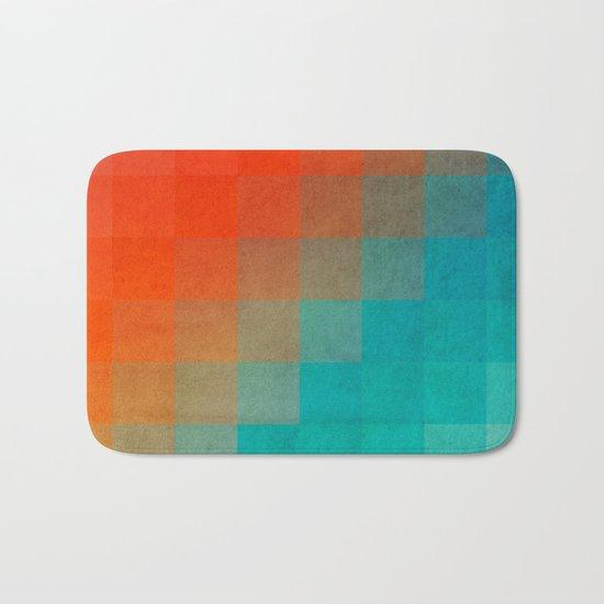Beach Pixel Surface Bath Mat