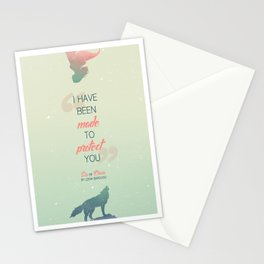 Six of Crows - I have been made to protect you Stationery Cards