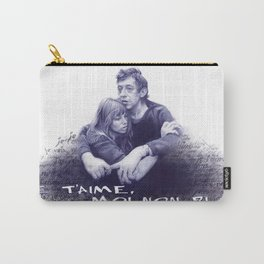 Je t'aime - Jane Birkin & Serge Gainsbourg Carry-All Pouch
