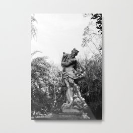 Antiquated Poise Metal Print