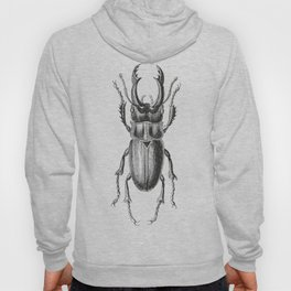 Vintage Beetle black and white Hoody