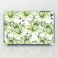 succulents iPad Cases featuring Succulents by Julia Badeeva