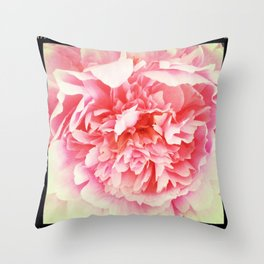 Peony 2 Throw Pillow