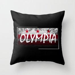 Olympia Throw Pillow