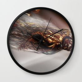 Death is there Wall Clock