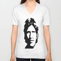 han solo V-neck T-shirts featuring HAN SOLO by Christina Arnold