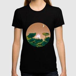Minhwa: Lotus Pond at Night A Type T-shirt