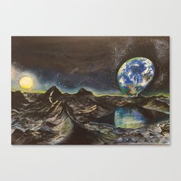 Space mystery..part 1 Canvas Print