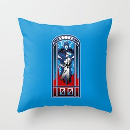 Eva Nouveau 00 Throw Pillow