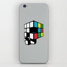 Rubix Skull iPhone & iPod Skin