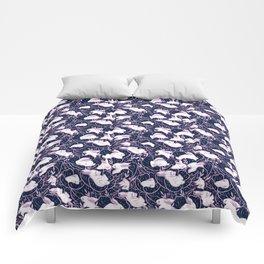 Where the bunnies sleep Comforters