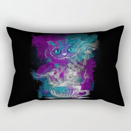 Chesire's tea Rectangular Pillow