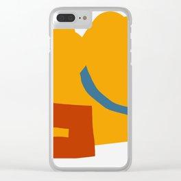 Saddle Bag Clear iPhone Case