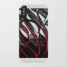 CalligrabstractArt iPhone X Slim Case