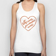 I'm Sure You Meant Well Unisex Tank Top
