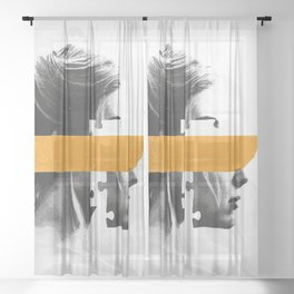 Gone Girl Sheer Curtain