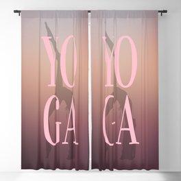 YO GA Blackout Curtain