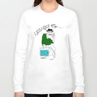 fear and loathing Long Sleeve T-shirts featuring Fear and Loathing in Albuquerque (Breaking Bad) by Evan