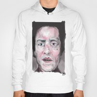 christopher walken Hoodies featuring Christopher Walken by Be Sound Art