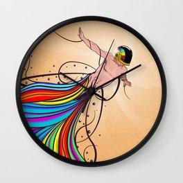 Fly C'mon! Wall Clock