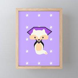 Count Foxula Framed Mini Art Print