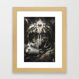 Queen of Terrors  Framed Art Print