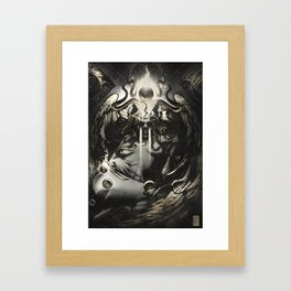 Queen of Terrors  Framed Art Print