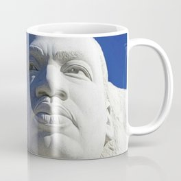 African American Civil Rights Memorial Portrait Painting Coffee Mug