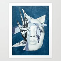 Fractured Visions Art Print