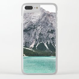 Glacial Heaven Clear iPhone Case