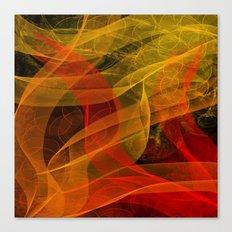 Warm Color Collab Canvas Print