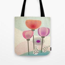 Naive Blooms Tote Bag