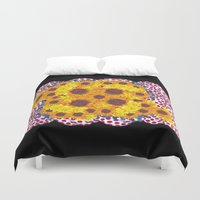 ram Duvet Covers featuring Ram  by Social Fashion Monsters