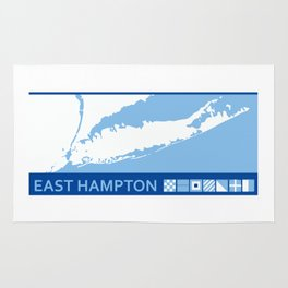 East Hampton - Long Island. Rug