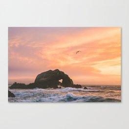 Love Rock at Sutro Baths | San Francisco, California Canvas Print