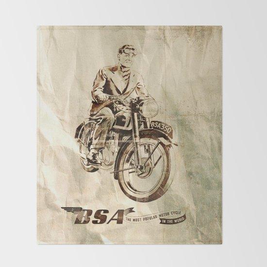 BSA - Vintage Poster by fernandovieira