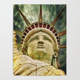 Liberty statue Poster