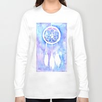 dream catcher Long Sleeve T-shirts featuring Dream Catcher by Robin Ewers
