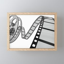 Film movie poster Framed Mini Art Print