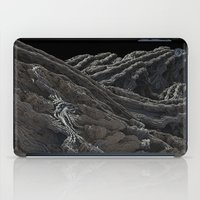 dark side of the moon iPad Cases featuring Dark Side of the Moon by Lyle Hatch