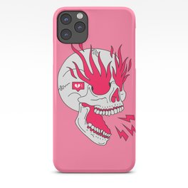 Skull Girl Classic Tattoo iPhone Case