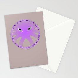 Cthulu Roundel Stationery Cards