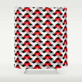 Diamonds In The Rough - Design 1 Shower Curtain