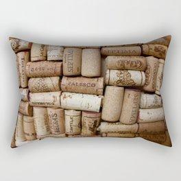 Red Wine Rectangular Pillow