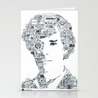 cumberbatch Stationery Cards featuring Benedict Cumberbatch by Ron Goswami