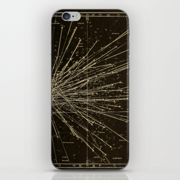Meteor Shower iPhone Skin