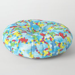 Candy Board Game Floor Pillow
