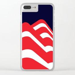 Simply Bauhaus Clear iPhone Case