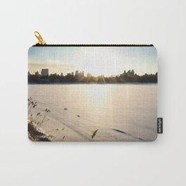 New York : The Snow, the Sun & The Skyline Carry-All Pouch
